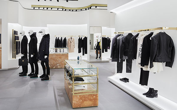 Verbazingwekkend Versace - Architectural services, interior construction and store QU-79